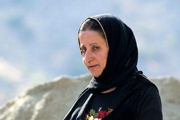 Iran: Iraanse vrouw (Uraman Takht) van Maarten Verhees