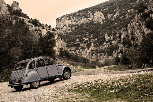 2CV in de franse bergen