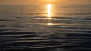 Minimalistische zonsondergang van Manon Verijdt