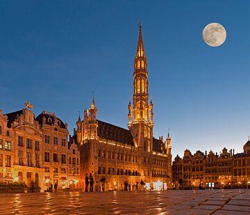 Rathaus Brüssel von Gunter Kirsch