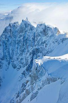 Aiguilles de Chamonix, Schweiz von Menno Boermans