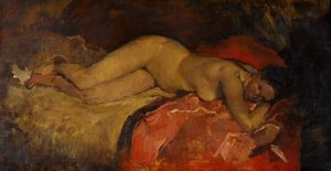 Liegender Akt, Hendrik Breitner