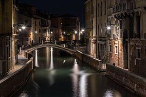 Nachtelijk kanaal