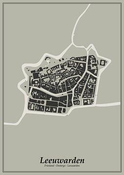 Festungsstadt - Leeuwarden von Dennis Morshuis