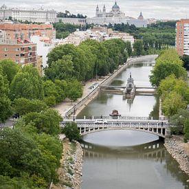 Spanje,Madrid, Puente Reina Victoria. van Hennnie Keeris