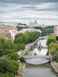 Spanje,Madrid, Puente Reina Victoria.