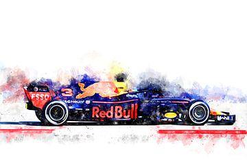 Daniel Ricciardo, Formule 1 van Theodor Decker