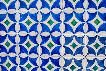 Tegels in Lissabon, Portugal von Kim de Been
