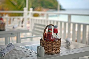Déjeuner - un restaurant sur la plage d'Ocho Rios sur t.ART