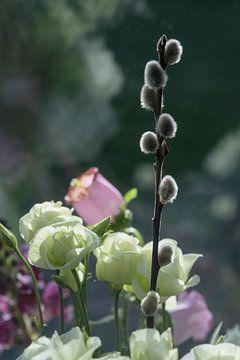Blumenstrauß in Pastell von Mario de Lijser