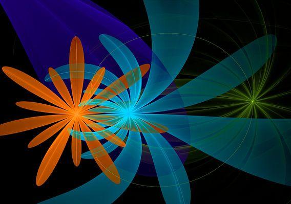 Fraktal floral