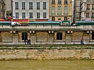 Dwarsdoorsnede van Parijs van Emil Golshani