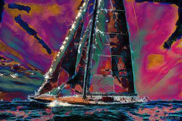 J-class Yacht von Lutz Roland Lehn