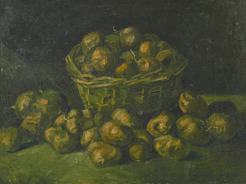 Vincent van Gogh, Korb mit Kartoffeln von 1000 Schilderijen