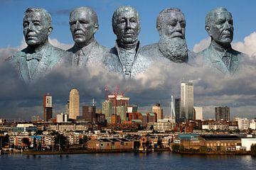 beelden Rotterdam van Bert Weber