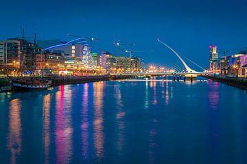 Dublin avond van Martin Wasilewski