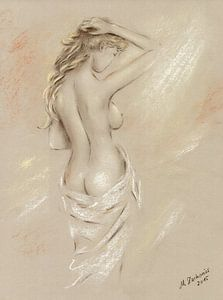 Godin van de dageraad - Vrouwelijke Naakt van