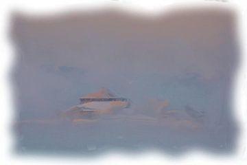 Winterlandschaft Norwegen von Maurice Dawson