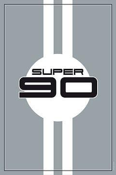 Porsche Super 90, racewagenontwerp van Theodor Decker