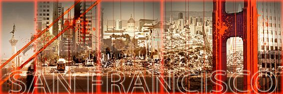 Golden Gate Bridge & San Francisco Collage