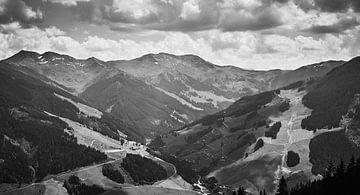 Österreichische Berge 1 von Bart Rondeel
