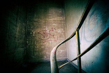 Urbex-Treppe in der Fabrik von Ger Beekes