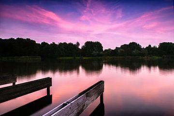 Avond in het Westerpark van Richard Bremer