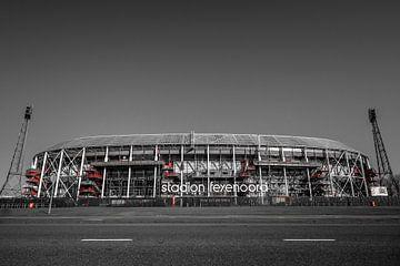 De Kuip | Stadion Feyenoord | Rotterdam - rzw van Nuance Beeld
