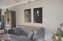 Kundenfoto: Marten Soolmans von Rembrandt van Rijn, auf leinwand
