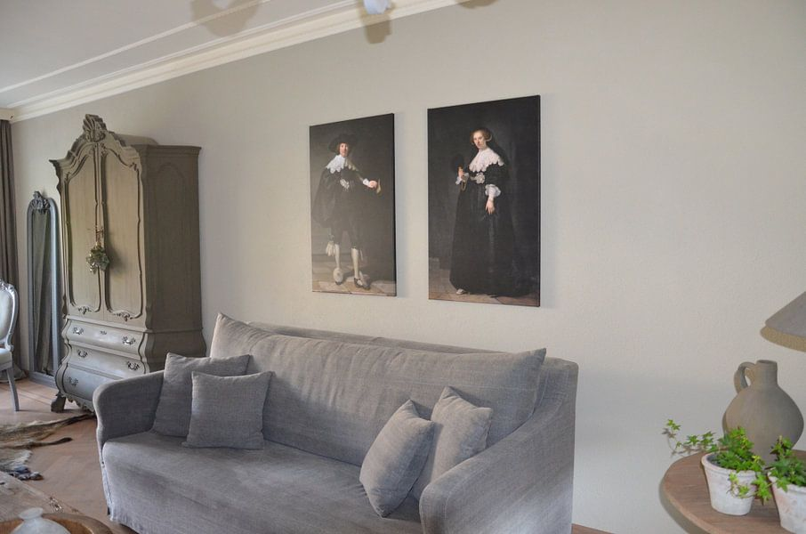 Photo de nos clients: Marten Soolmans van Rembrandt van Rijn sur Marieke de Koning