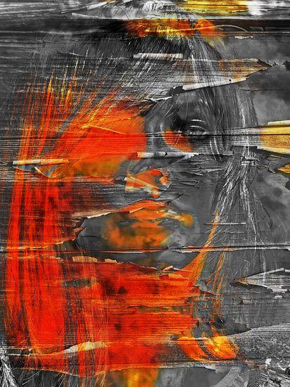 The half orange face