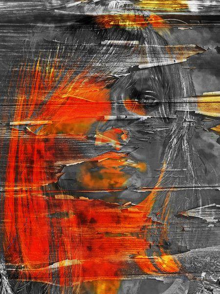 The half orange face van Gabi Hampe