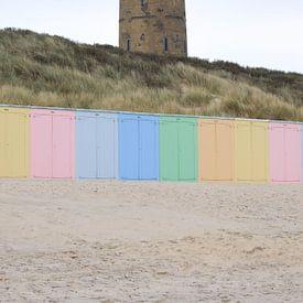 Watertoren Domburg van MSP Canvas