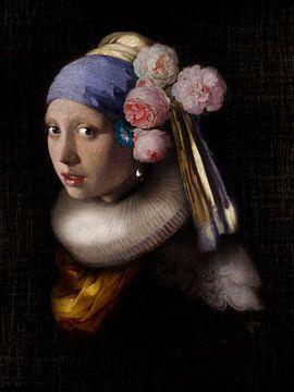 Mädchen mit dem Perlenohrring des Statuenmeisters von De nieuwe meester