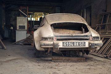 verlassener Porsche von Kristof Ven