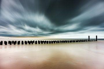 Strand Burgh-Haamstede von Edwin van Wijk