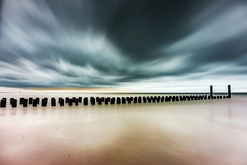 Strand Burgh-Haamstede van Edwin van Wijk