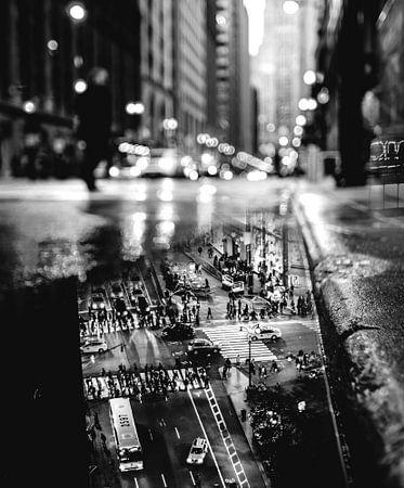 REFLECTION (zwart-wit) van Darryl Ketelaar