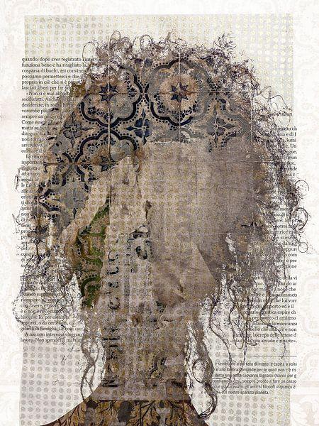 Bruine krullen van Gabi Hampe