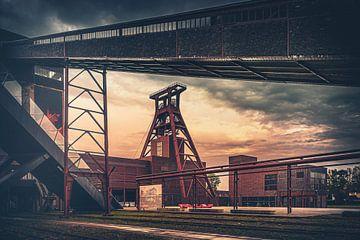 Zollverein Kolenmijn Kunst Stijl van Jakob Baranowski - Off World Jack