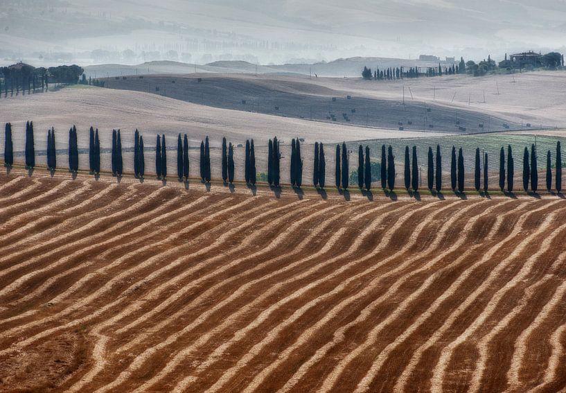 Toscane landschap van Marcel van Balken