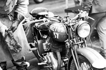 BSA M20 WWII Motorfiets van Richard Jansen
