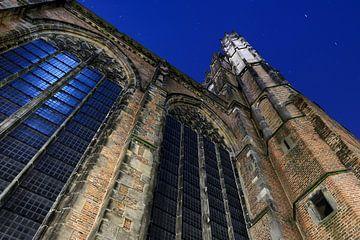 Het dwarsschip van de Domkerk in Utrecht von Donker Utrecht