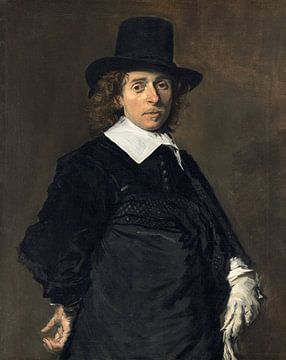 Porträt des Adriaen van Ostade, Frans Hals