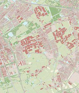 Kaart vanPijnacker-Nootdorp