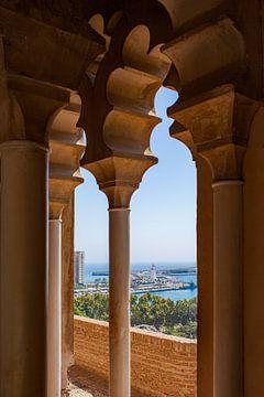 Malaga Blick auf die Alcazaba von Gerard van de Werken