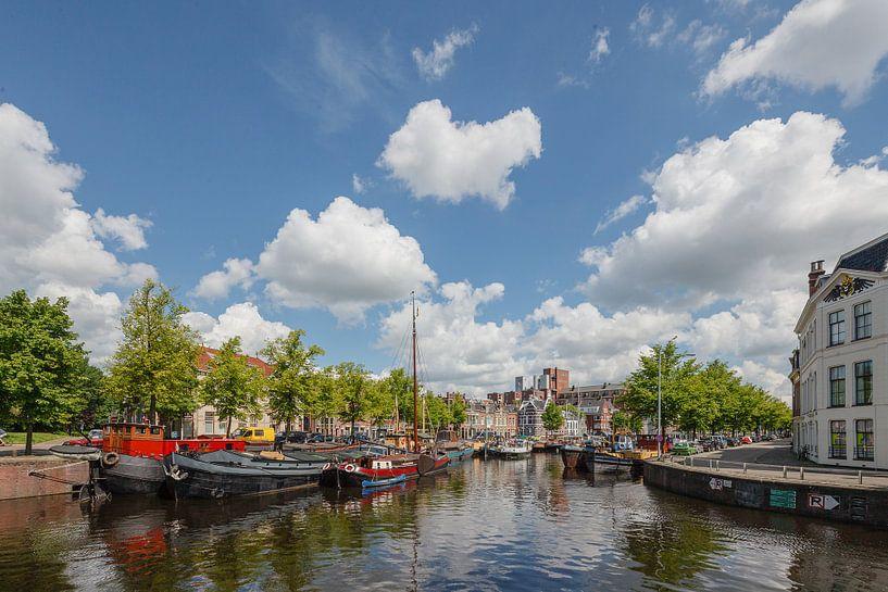 Noorderhaven Groningen, Nederland van Martin Stevens