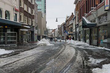 Geleenstraat in Heerlen in de winter van Francois Debets