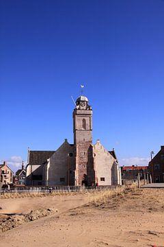 Andreas kerk Katwijk aan zee gebouw van Bobsphotography