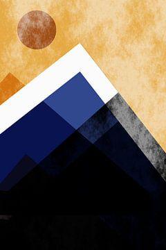 Les montagnes bleues sur Christine Bässler